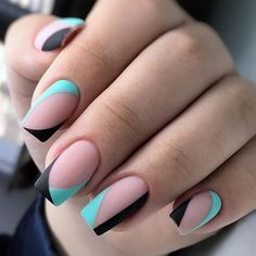 The advantage of the gel is that it allows you to enjoy your French manicure for a long time. There are four different ways to make a French manicure on gel nails. Perfect Nails, Gorgeous Nails, Amazing Nails, Stylish Nails, Trendy Nails, Diy Nails, Cute Nails, Nail Nail, Nagellack Design
