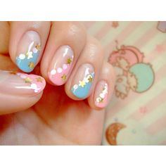 Lovely nail designs picture ideas for every nail art lovers. Check out our best 20 the cutest and lovely nail design from many talented nail artist. Nail Designs Pictures, Cute Nail Art Designs, New Nail Designs, Short Nail Designs, Colorful Nail Designs, Fancy Nails, Cute Nails, Pretty Nails, Pink Nails