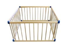 Baby Playpen Baby Safety -Wooden -Toddler -4 Panels