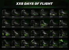 "Colección Air Jordan ""XX8 Days Of Flight"""