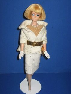 """On The Avenue"" modeled by American Girl Barbie, from the collection of Tim Nicoderm."