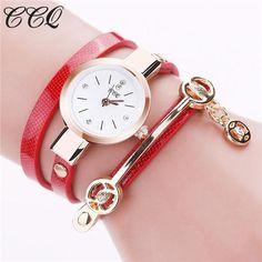 Womens Trendy Bracelet Strap Retro Watch