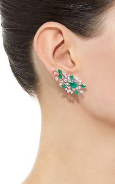 Emerald Earrings Hong Kong those Jewellery Meaning save Emerald Earrings Indian Designs above Jewelry Fix Stores Near Me Emerald Earrings, Emerald Jewelry, Ear Jewelry, Diamond Jewelry, Jewelery, Jewelry Crafts, Stylish Jewelry, Fashion Jewelry, Women's Fashion