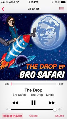 """Bro Safari """"The Drop"""""""