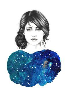 Beauty Illustrations by Amanda Mocci