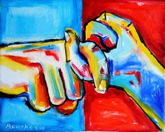 Nancy Rourke - 'friend' in American Sign Language-- I have this on a shirt AND frames in my kitchen!