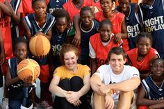 Clara Hughes on a recent visit to Right To Play programs in Mali; on June 21st, 2012 Clara was named to Canada's Olympic Team (road cycling), making the London Games her 6th Olympics. She is the only athlete to win multiple medals at both the Summer and Winter Games.
