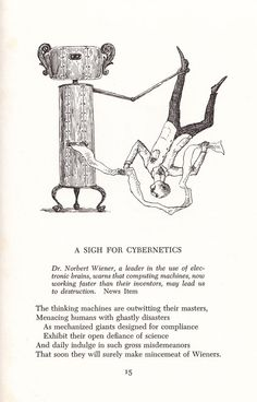 Scrap Irony: Irreverent Illustrated Cultural Commentary by Edward Gorey circa 1961 – Brain Pickings