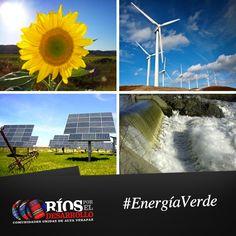 Entre las energías renovables se cuentan la eólica, geotérmica, hidroeléctrica, mareomotriz, solar, biomasa y los biocarburantes.