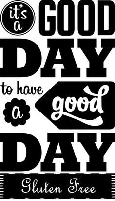¡Es un buen día para tener un día #singluten! #frases