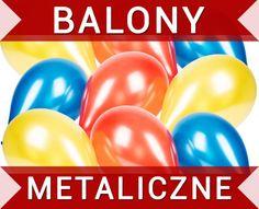 BALONY Z POŁYSKIEM metaliczne kolory SUPER CENA