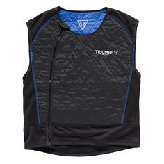 Cooling Men's Motorcycle Vest   Easily a must-have for hot weather, the Triumph Cool Vest may just be the coolest thing out there on the road. We've partnered with HyperKewl to bring you cooling fabric that absorbs, stores, and releases water within the multi-layer material.   Triumph Motorcycles