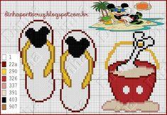 Minnie Mouse x-stitch                                                                                                                                                      Mais