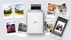 Fujifilm's refreshed printer turns your phone into an instant-photo machine
