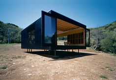 Prefab Black Box: Watanabe House by Tadashi Murai