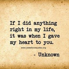 We've all experienced a moment when you just can't find the right words to say 'I love you' and describe the depth of your feelings, so here are 60 cute and sweet love quotes for him that are sure to make his heart melt. Love Quotes For Him Cute, Love Quotes For Him Boyfriend, Sweet Love Quotes, Girlfriend Quotes, Love Yourself Quotes, Love Is Sweet, So In Love, I Will Always Love You Quotes, Love You Forever Quotes