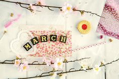 March - spring romantic photograph from GoldenSection on Etsy