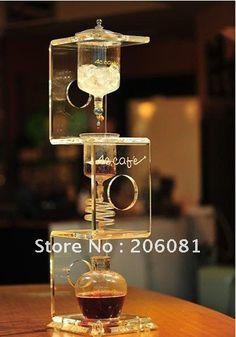 4C cold drip coffee maker/ ice coffee dripper/ice dripper coffee ,elegant crystal design,diamond sercies,high-end gift