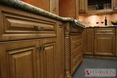 Largo Maple Cinnamon Glaze Photo Gallery | Cabinets.com by Kitchen Resource Direct