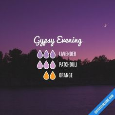 Gypsy Evening Essential Oil Diffuser Blend ••• Buy it dōTERRA essential oils online at www.mydoterra.com/suzysholar, or contact me suzy.sholar@gmail.com for more info.