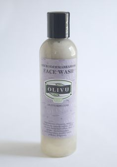 Olivu 426 - Micro-Dermabrasion Face Wash, $6.00 (http://olivu426.com/micro-dermabrasion-face-wash/)