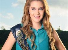 Emily Ormaza representa a Santo Domingo de los Tsáchilas en el Miss Ecuador, es modelo profesional e imagen de dos marcas de ropa ecuatoriana.