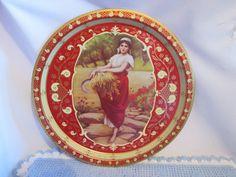 Vintage Plateau Faucheuse de blé/ Vintage Tray Mower of wheat de la boutique Roselynn55 sur Etsy