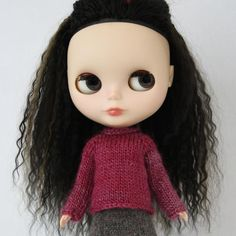 (6) Name: 'Knitting : Roz Sweater for Blythe