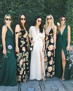 super cool bridesmaids dresses