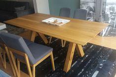 #τραπέζι#woody#δρυς Furniture Ideas, Home Furniture, Woody, Solid Wood, Dining Table, Home Decor, Decoration Home, Home Goods Furniture, Room Decor