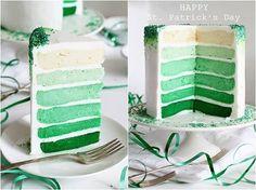 Layer cake for lucky leprechauns!
