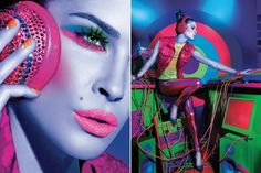 Maybelline 2012 Calendar  Erin Wasson: Model  Charlotte Willer: Makeup Artist