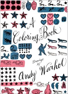 Andy Warhol Coloring Book