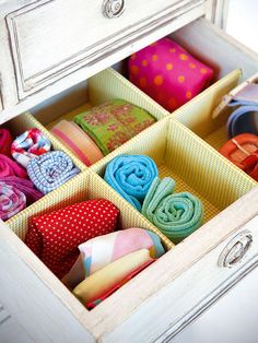 Paso a paso - Un cajón organizado - Reciclar muebles - Decoracion facil - Ideas para ganar espacio, decoracion facil, reciclaje de muebles - CASADIEZ.ES