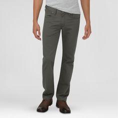 Dickies Men's Slim Fit Taper Leg 5-Pocket Pants Moss 30X30, Jungle Moss
