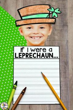 Are you looking for a fun Leprechaun craftivity? This St. Patrick's Day Writing Craft is a creative writing activity to celebrate the holiday. This craftivity includes word webs, writing prompts, Leprechaun craft, and bulletin board letters. Hang your little Leprechauns on a bulletin board in your classroom for a festive decoration. Click on the picture to learn more about this craftivity for your Kindergartners, 1st graders, and 2nd graders! #stpatricksdaywritingcraft #leprechaunwritingcraft