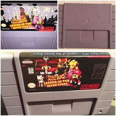 On instagram by retropunks #retrogaming #microhobbit (o) http://ift.tt/1RXTRBv this hideous Mario RPG game cart that I purchased for $5!  I started off by soaking the damaged label w/ Goo Gone for a few minutes then carefully scrapped it off with a flathead screw driver.  If the label gives you trouble heat it up with a blow dryer to soften the process.  Eventually the label will be non existent and that's when you slap on a new label with the help of a glue stick. For those who are curious…