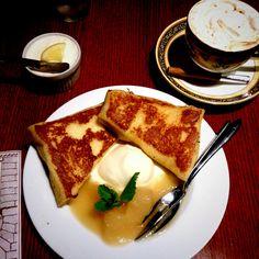 Cafe AALIYA's french toast(*^^*)