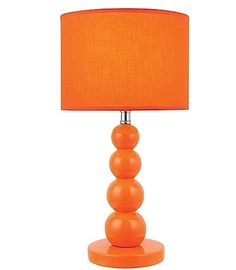 This lamps would add a great punctuation of juicy color to any room.