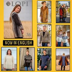 Álafoss - since Icelandic knitting yarn, Icelandic wool sweaters, Icelandic design and souvenirs at a reasonable price - world wide shipping. Wool Yarn, Knitting Yarn, Knitting Patterns, Icelandic Sweaters, Wool Sweaters, Pattern Books, Profile, English, Search