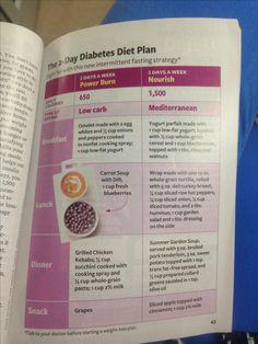 diabetic diet meal plans