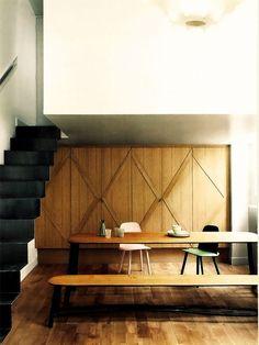 BenV | uniqueshomedesign: Mesa com banco e cad charisma...