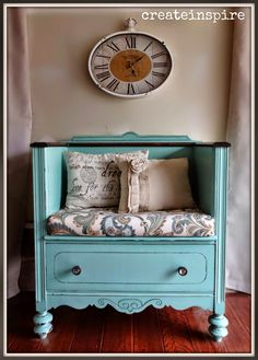 {createinspire}: dresser to chair transformation