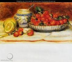 Strawberries -- Fraises - Pierre Auguste Renoir
