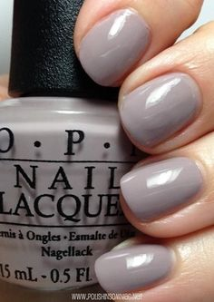 OPI Taupe-less Beach. Bought this tonight and I'm really loving the color