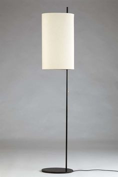 View this item and discover similar for sale at - Royal floor lamp in lacquered steel and fabric shade, designed by Arne Jacobsen for Louis Poulsen, Denmark. Diy Floor Lamp, Decorative Floor Lamps, Modern Floor Lamps, Vintage Furniture Design, Art Furniture, Home Lighting, Lighting Design, Pole Lamps, Arne Jacobsen