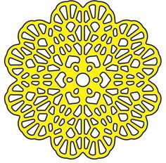 Italian Flourish Tiny Doily - Cheery Lynn Designs
