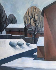 Speed Painting – The Last Snow Kai Arts, Speed Paint, Art Blog, Snow, Colours, Shapes, Lights, Drawings, Illustration