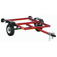 how to turn a harbor freight trailer into a kayak trailer.