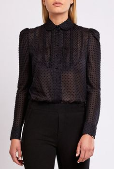 GP's Picks: in love with this elegant, gauzy cotton blouse by Vilshenko